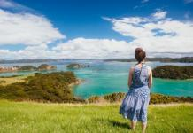 Victoria at the Bay of Island, New Zealand