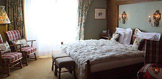 Room in the Kristiania Hotel, Austria