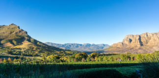 Stellenbosch close to Cape Town, South Africa