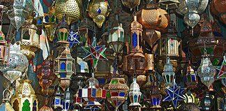 Shopping in Marrakech, Morocco