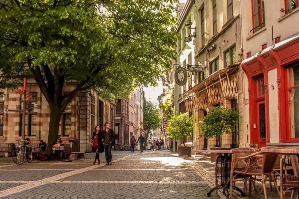 Take a day trip to Antwerp
