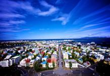 Reykjavik, cities of Iceland