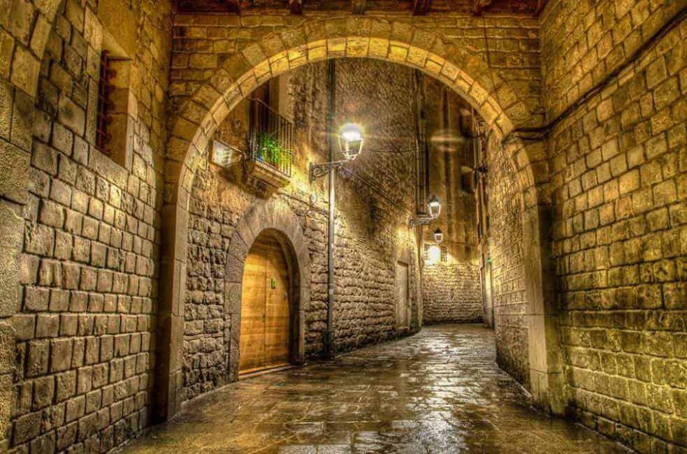 Hidden Barcelona streets