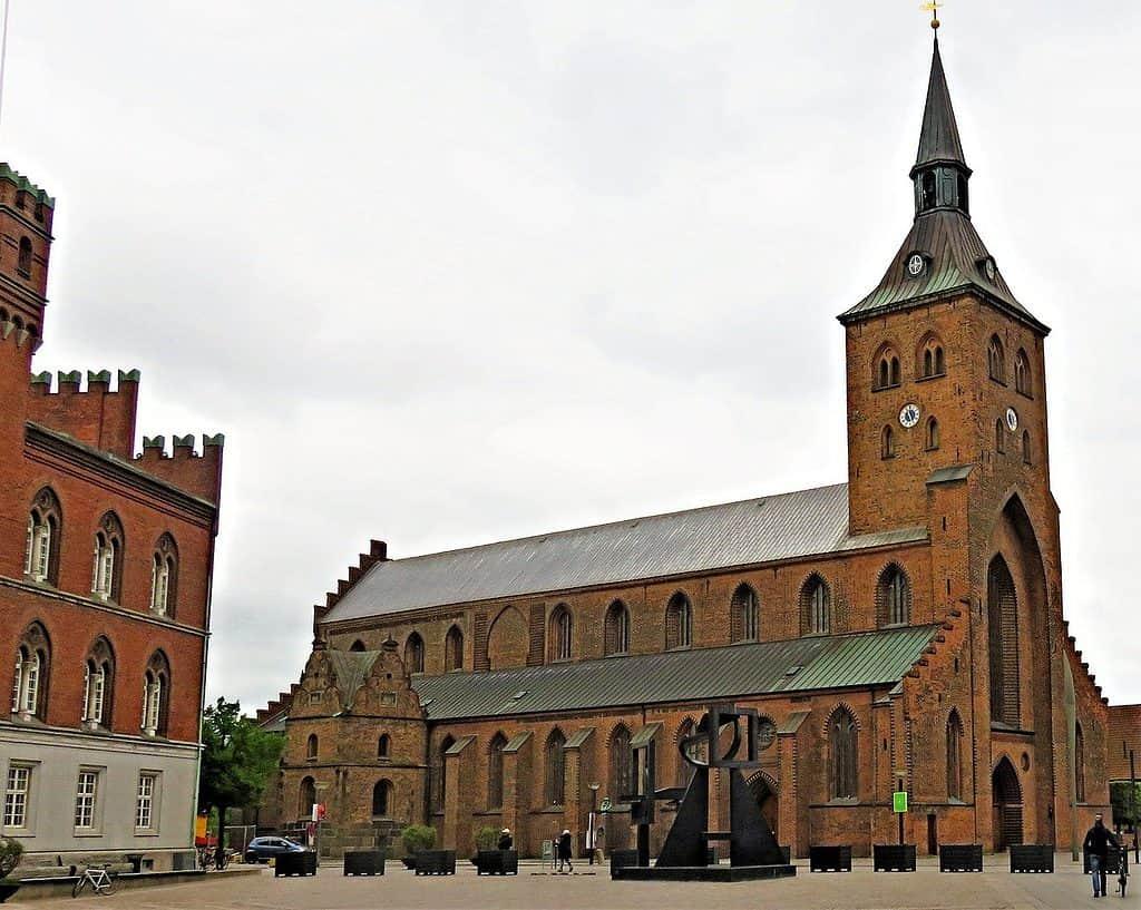 A church in Odense
