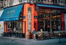 Cafe scams in Paris, France