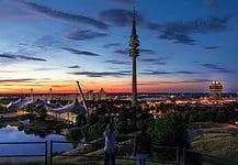 Olympia Park in Munich, Germany