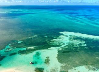 The Abacos Islands in the Bahamas