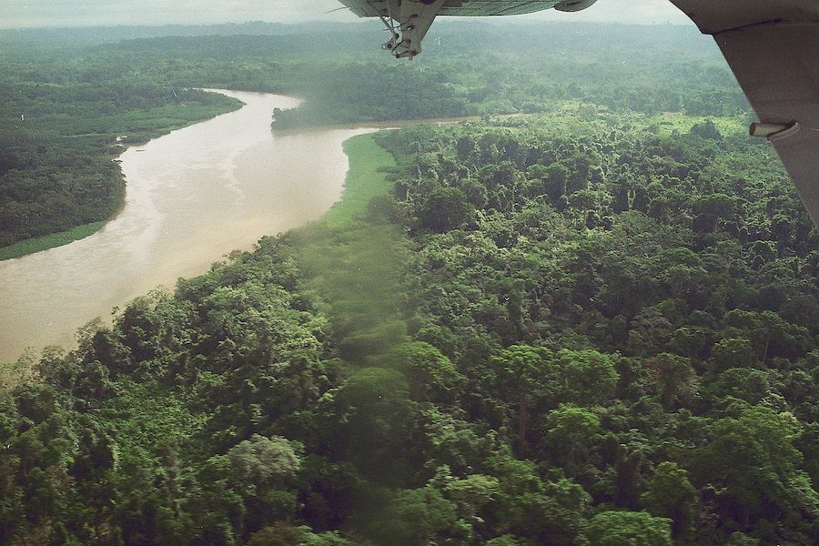 Crossing the Darien Gap between Panama and Colombia