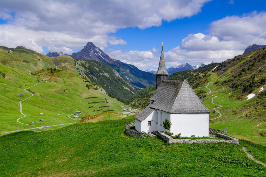 Chapel in Vorarlberg, Austria