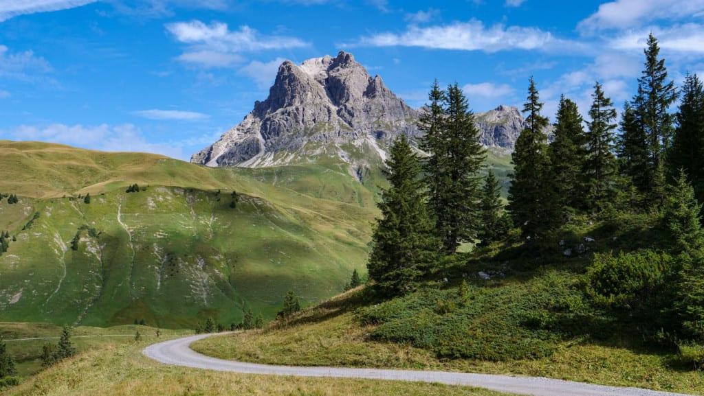 Vorarlberg mountains, Austria