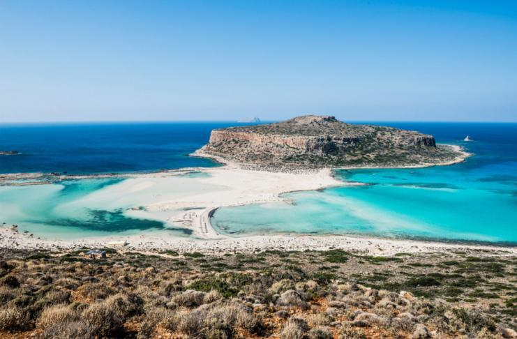 Driving in Crete to Balos