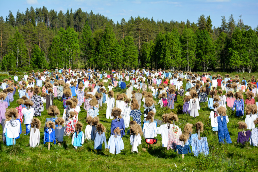 The Silent People in Suomussalmi, Finland