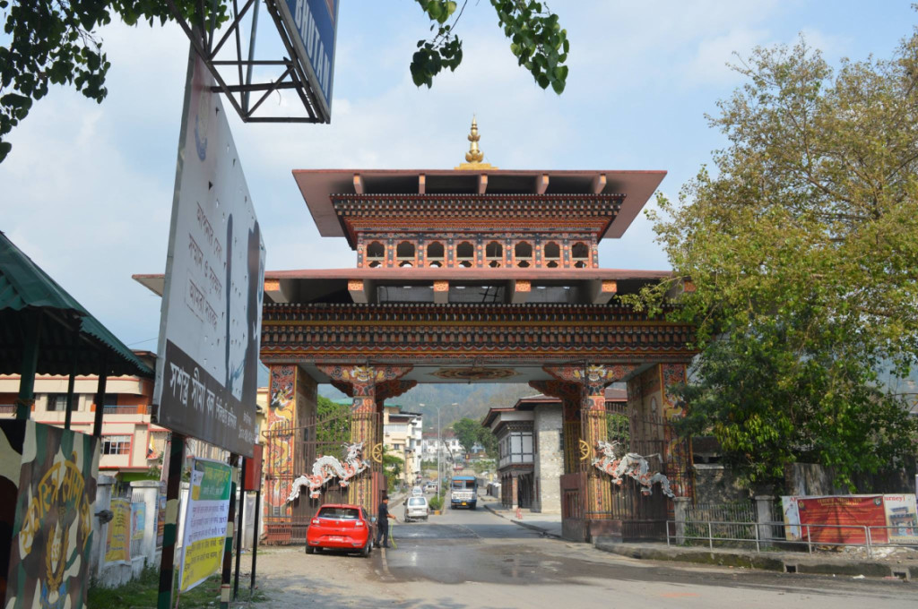 Gateway of Bhutan from India
