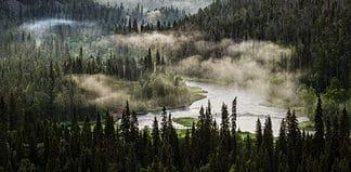 Kitka river in Finland