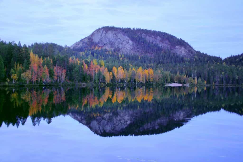 Lake Konttainen in Finland