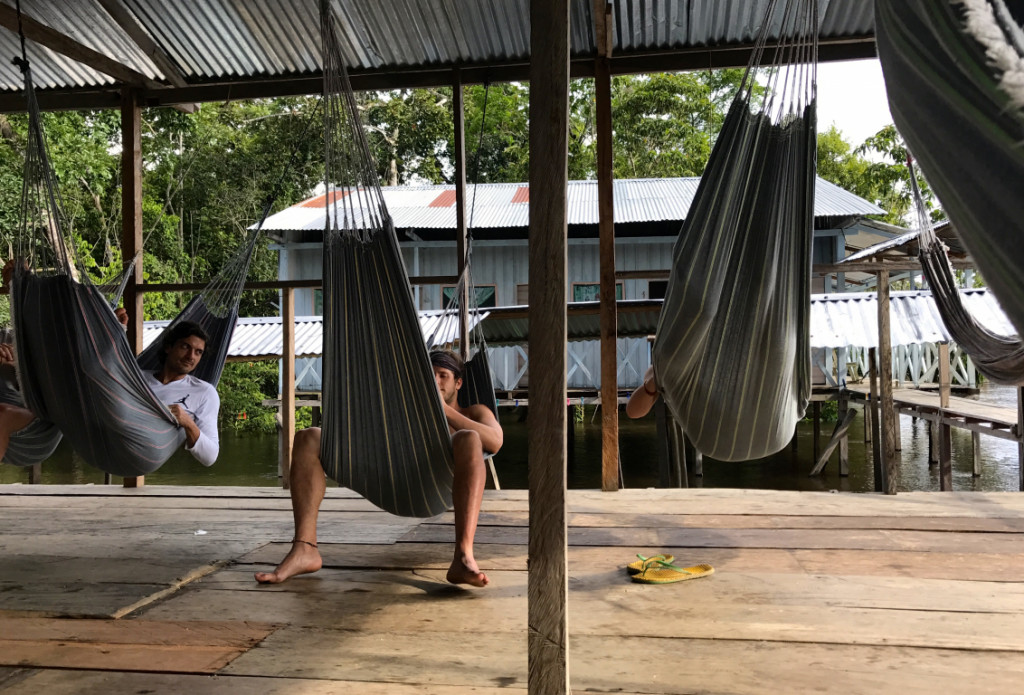 Downtime in the Amazon Rainforest