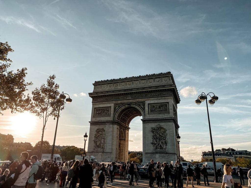 The Arc de Triomphe with the Paris Pass