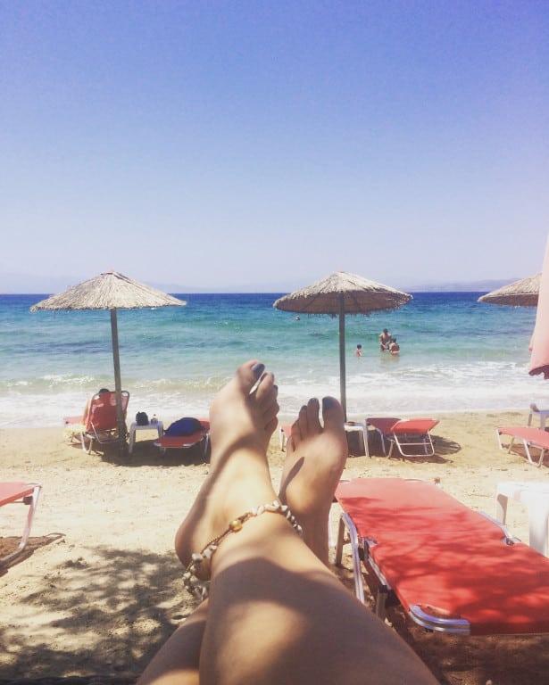 Island hopping Greece