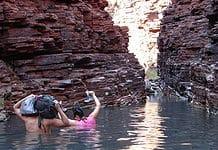 Gorge in the Karijini National Park, Western Australia