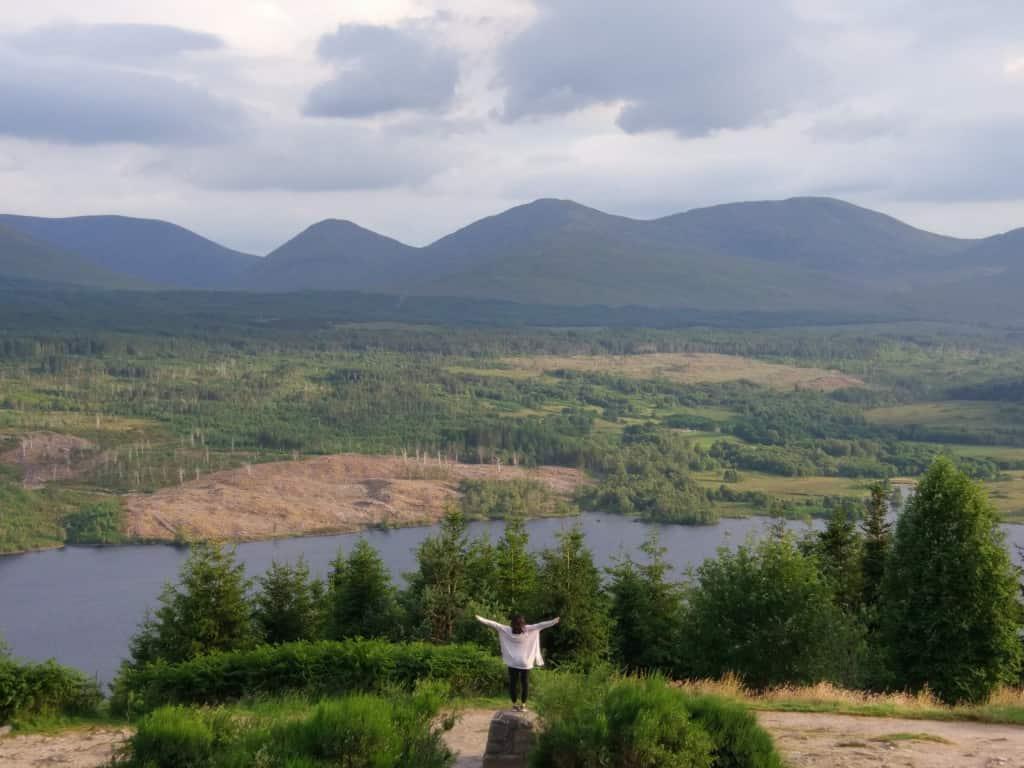 Glengarry Viewpoint, Scotland