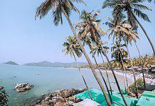 Goa in monsoon, India