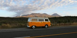 Camper Van, New Zealand