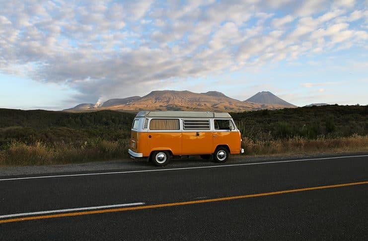Camper Van, New Zealand