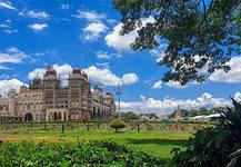 Palaces in Mysore, India