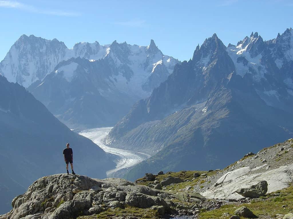 Tour Mont Blanc, France