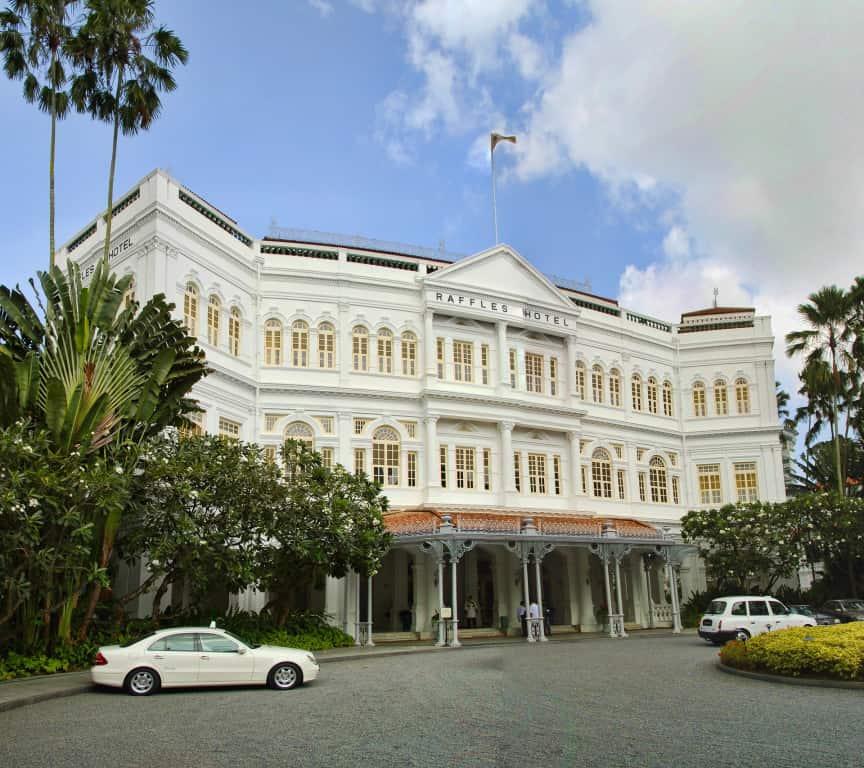 Luxury hotels in Singapore - Raffles