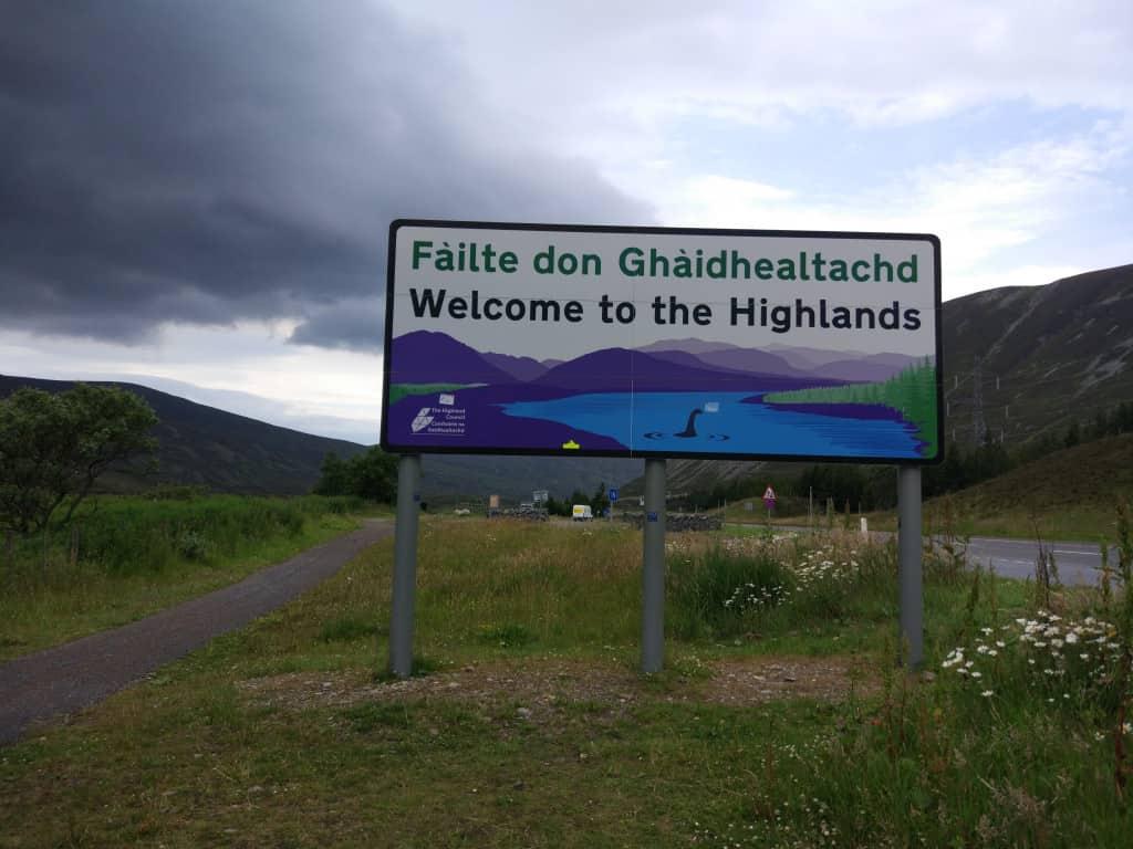 A Scottish Road trip