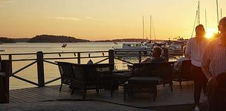 Stockholm sunset, Sweden