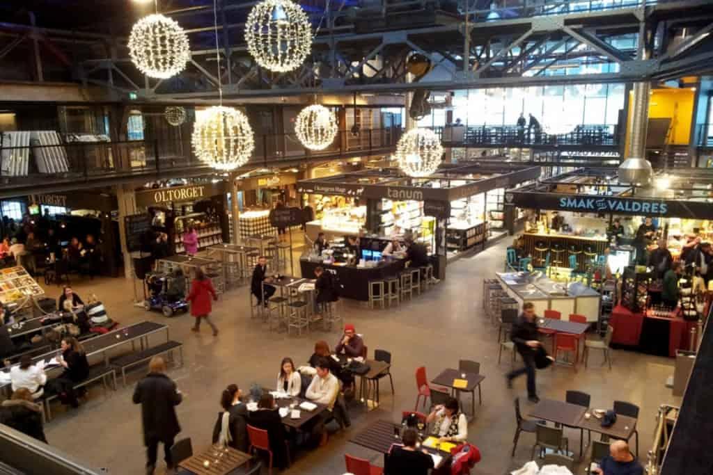 Food Hall of Oslo