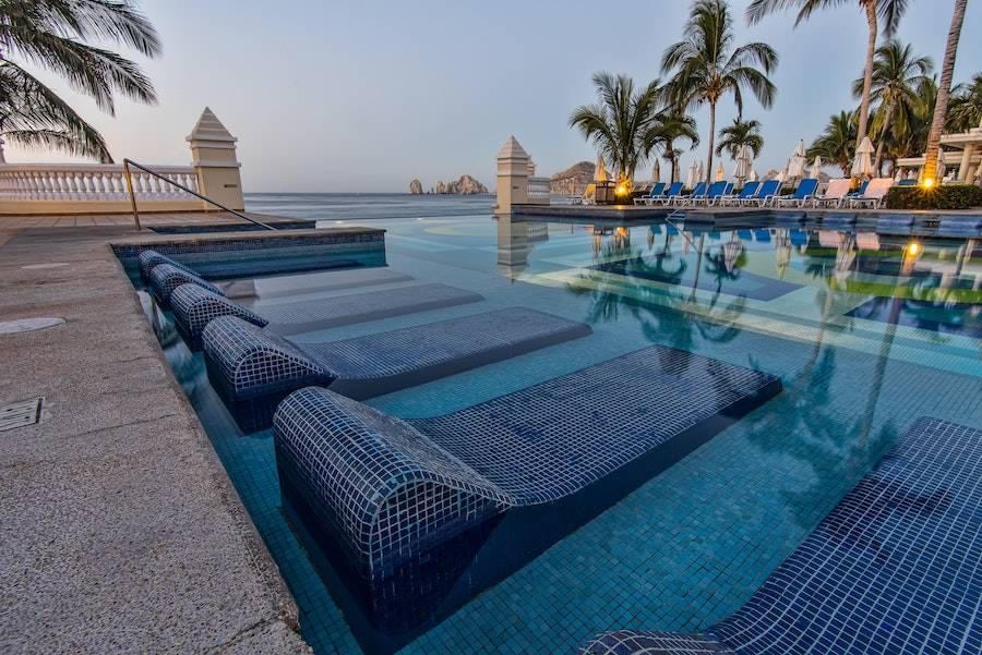 Resort Pool in Cabo San Lucas, Mexico
