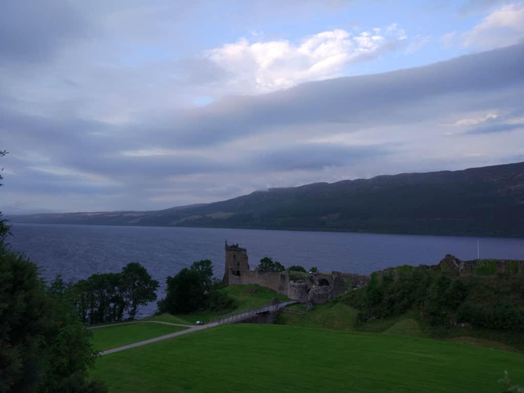 Urquhart Castle, Scotland road trip