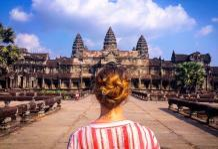 Angkor Wat, volunteer in Cambodia