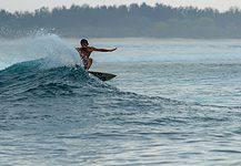 Water activities in Bali, Indonesia