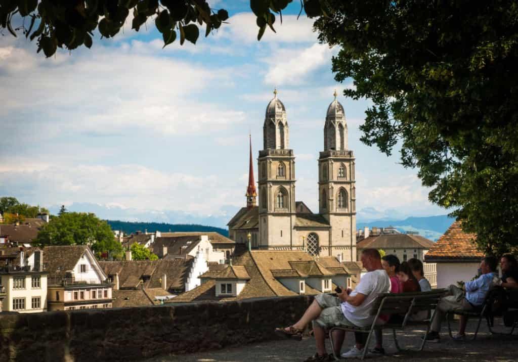 Grossmunster in Zurich, Switzerland