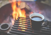 Coffee during camping