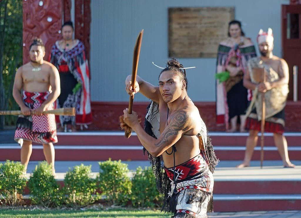 Maoris in New Zealand