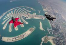 Crazy things to do in Dubai - skydiving
