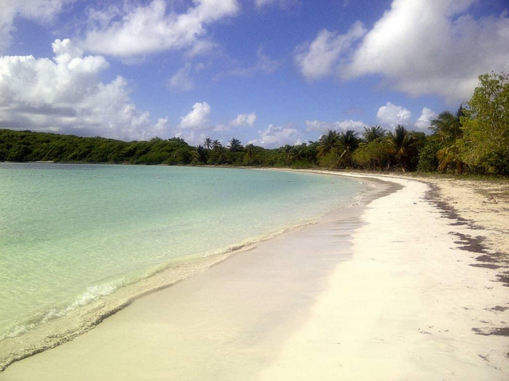 Media Luna, Vieques, Puerto Rico. Most remote beaches in the world, Puerto Rico. Angel Xavier Viera-Vargas   Flickr Profile