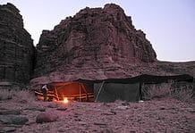 A Bedouin tent experience in Jordan