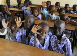 A school in Gambia