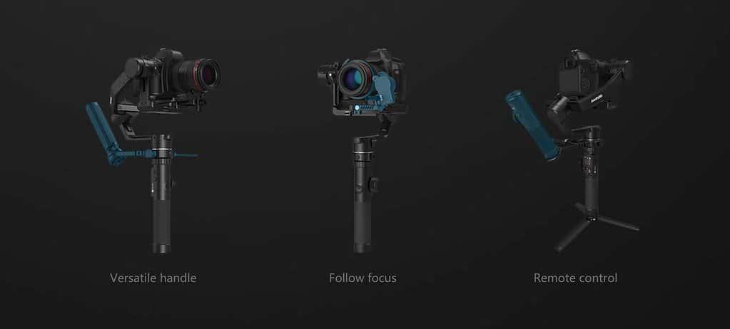 Extensions for the Feiyu Tech Gimbal AK4500.