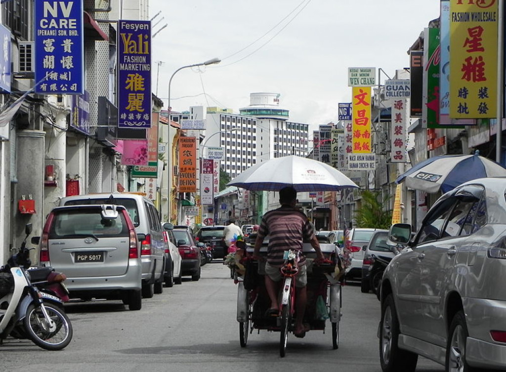 Old Town George Town Penang, Malaysia