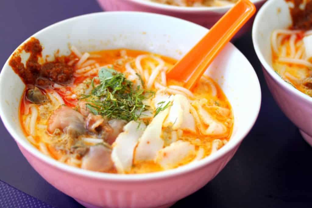 Malaysian dishes - Laksa