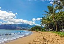 Mauri beach, Hawaii