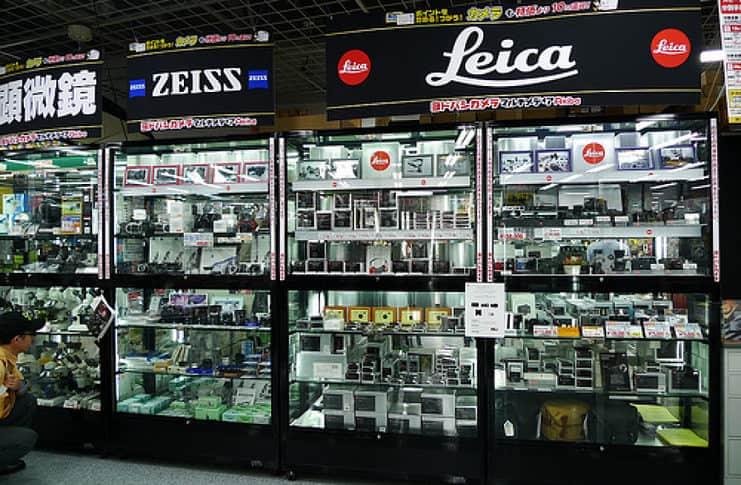 Yodobashi Akiba, huge electronic store in Tokyo.