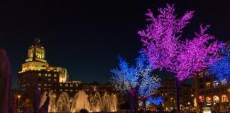 Plaça Catalunya Christmas Lights